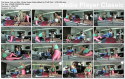 Brat Princess 2: Cali and Mia - Broke Sugar Daddy Milked for Profit Part 1 (720 HD)
