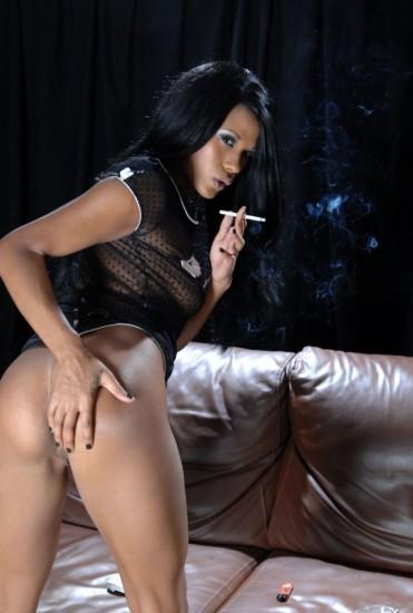 Keisha's smoking all whites