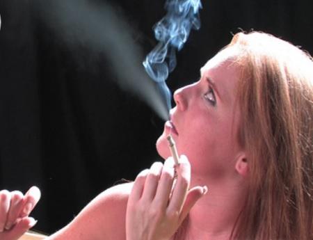 Christina smoking sex