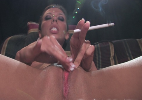 Rachel Starr smoking masturbation