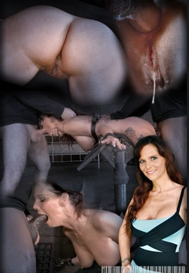 Hardbodied MILF Syren De Mer tightly tied