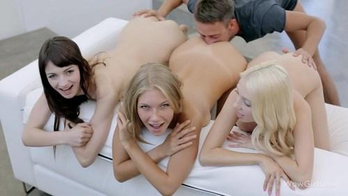 Vk с тремя девушками порно видео