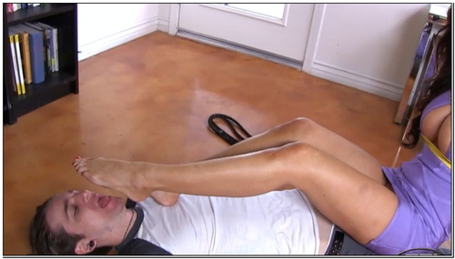 Lick Them Clean Female Domination Foot Fetish