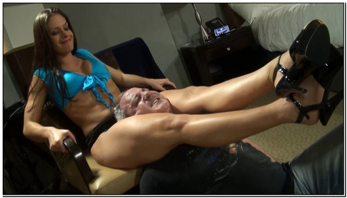 High Pressure Interview Female Domination