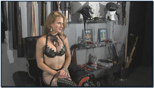 I Collared My Slave For Boot Worship Female Domination