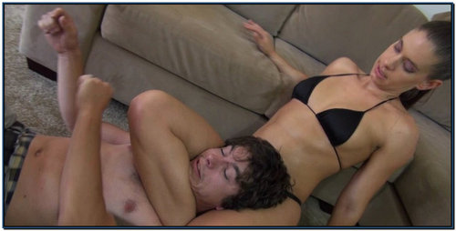 Skylar Vs Nico Female Domination