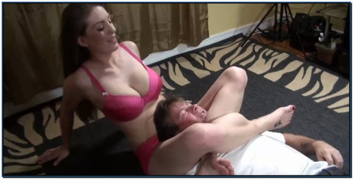 Giving Him Her Last Cracker Female Domination