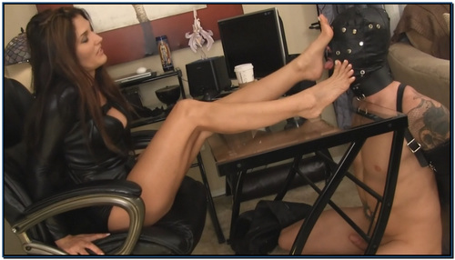 Do You Wanna Be A Foot Slave Femdom Foot Fetish