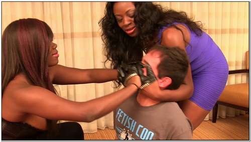 Triple Threat Smother Female Domination