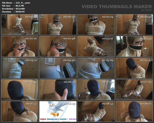 Bettie cho tied and gagged 6