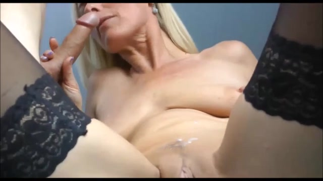 Hot Milf Blowjob Swallow
