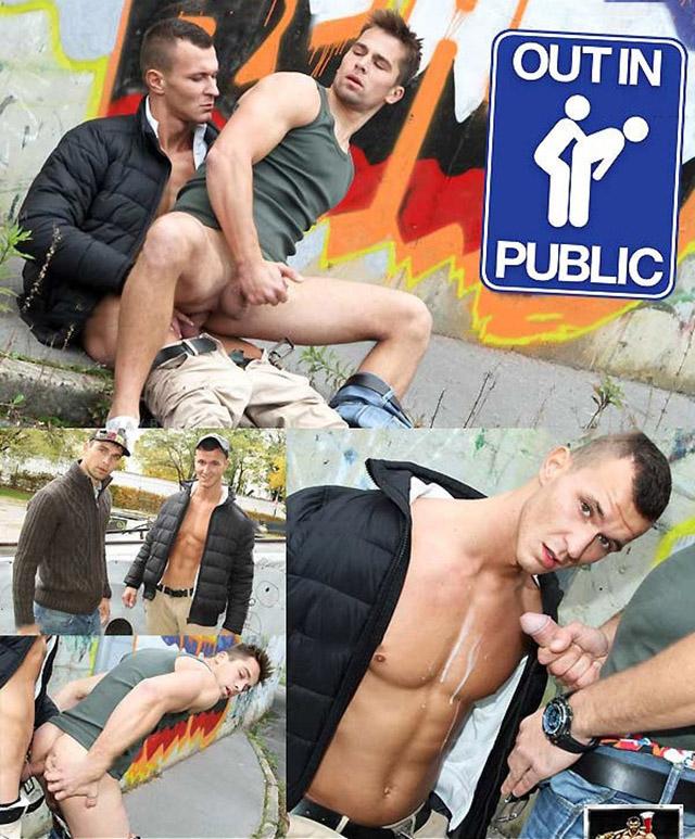 gay outinpublic escort