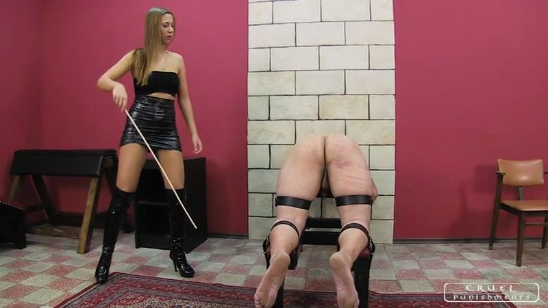 Cruel Punishments Severe Femdom Andorras Erotic Caning Starring Lady Andorra