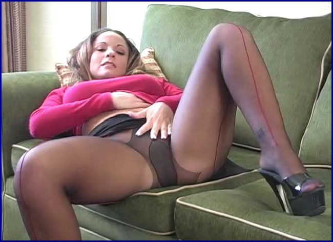 Hose pantie porn sex video