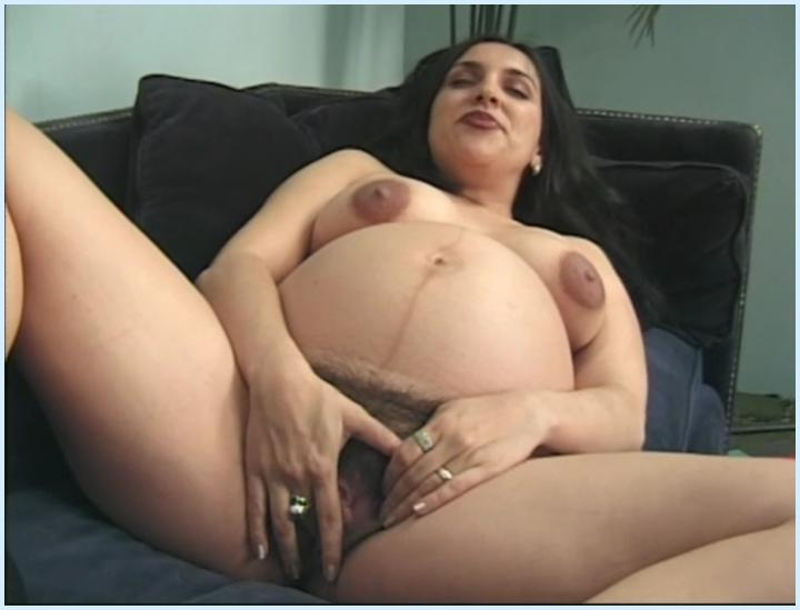 Pregnant babe double teamed 6
