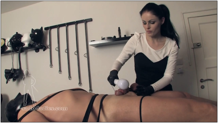 Sadistic Dry Milking  [Mistress, Female Domination, Femdom Handjob, Forced Ejaculations, 720p]