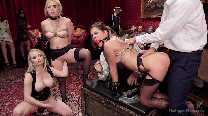 Aiden Starr, Kacie Castle, Rikki Rumor (Caged Slut Puppy Slaves / 39848 / 01.04.16.)