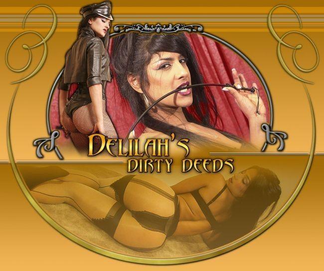 Mistress Delilah / bossy Delilah  [2008, FemDom, Fetish, StrapOn, facesitting, CamRip]