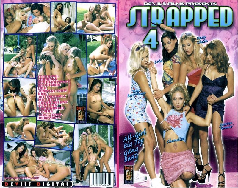 Strapped 4 (Buddy Rose, Devil's Film) [2001, All Girl / Lesbian, Orgy,  DVDRip]