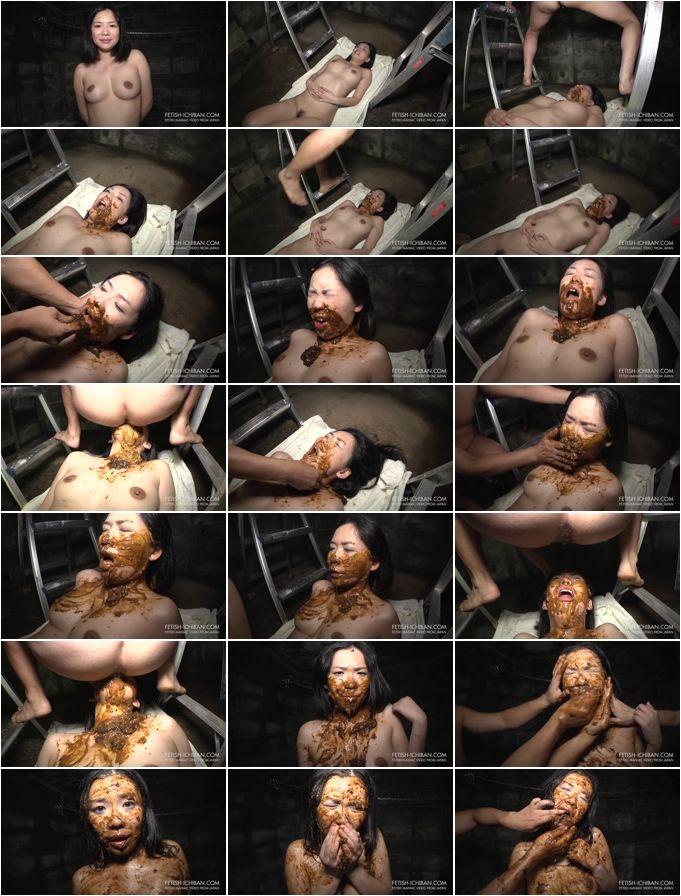 Scat Shit Vomit - Ichiban - Japanese Style Women Toilet 01 - 25.03.2015