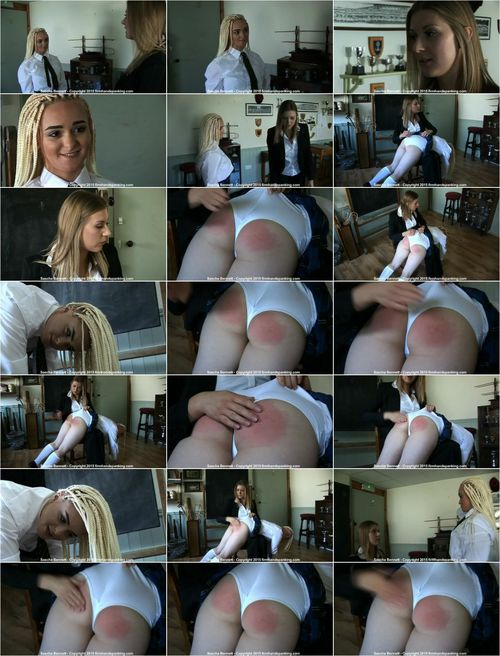 Sascha Bennett - School Detention - DA (Spanking) [SD 432p]