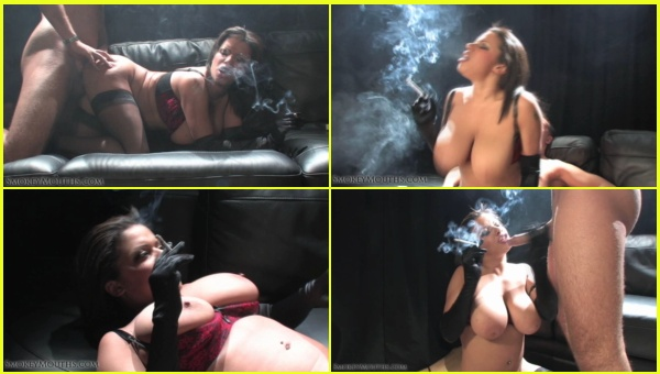 Smoking 249-Alexis Silver Smoking during sex-pt2