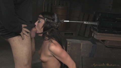 Blow job machine bdsm and punish fuck