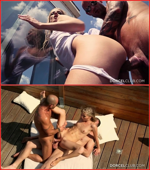 Cayenne Klein (Great DP On A Parisian Balcony – Double Penetration Sur Un Balcon Parisien) All sex, Anal, DP, Blowjob, Blonde, Threesome, Hardcore