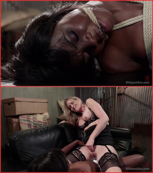 Simone Sonay and Ana Foxxx (Big Tipper) 2015 BDSM, Strap-on, Lesbians