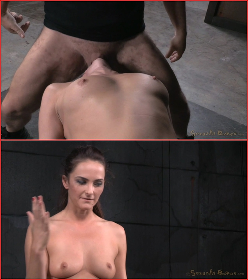 Bondage beauty Bianca Breeze shackled down and throatboarded, epic brutal deepthroat! – BDSM, Bondage, Domination, Blowjob