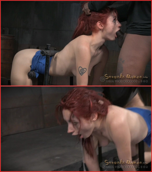 Violet Monroe (Total destruction in the final part of Violet Monroe's BaRS show! Rough doggystyle fucking with BBC 20-07-2015) BDSM, Bondage, Deepthroat, Hardcore, Domination, Toys, All Sex