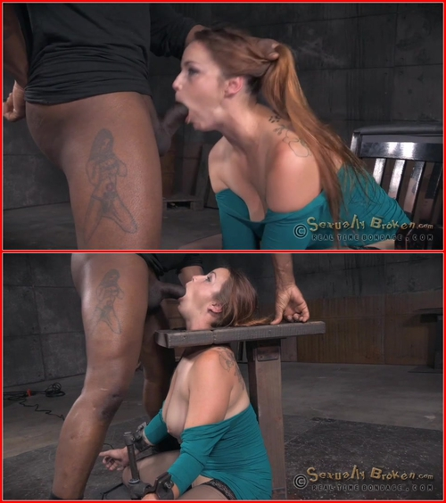 Big breasted Bella Rossi is bound and brutal shackled rough sex deepthroat while vibrated! August 3, 2015 BDSM, Bondage, Domination, Blowjob