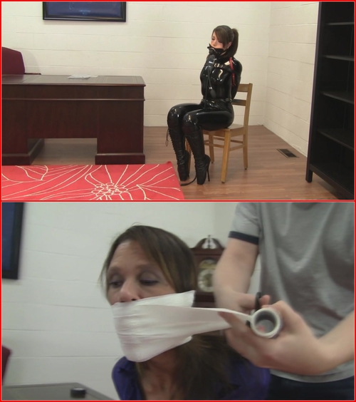Gag.Montage.10-14.Secretaries.Gagged.Super.Tight