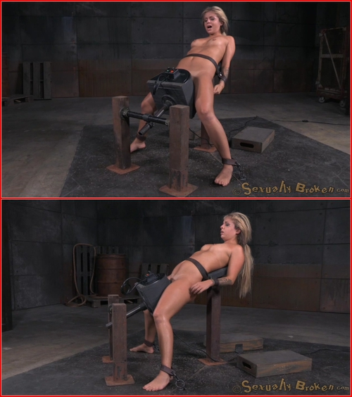 Sexy blonde Madelyn Monroe bound on a sybain and utterly destroyed by dick! Brutal deepthroat! August 24, 2015 BDSM, Bondage, Domination, Blowjob