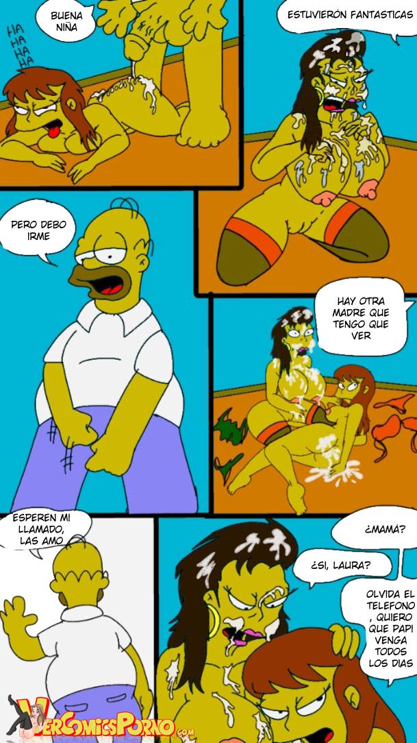 Poder Sobre Las Powers Los Simpsons Comics Porno