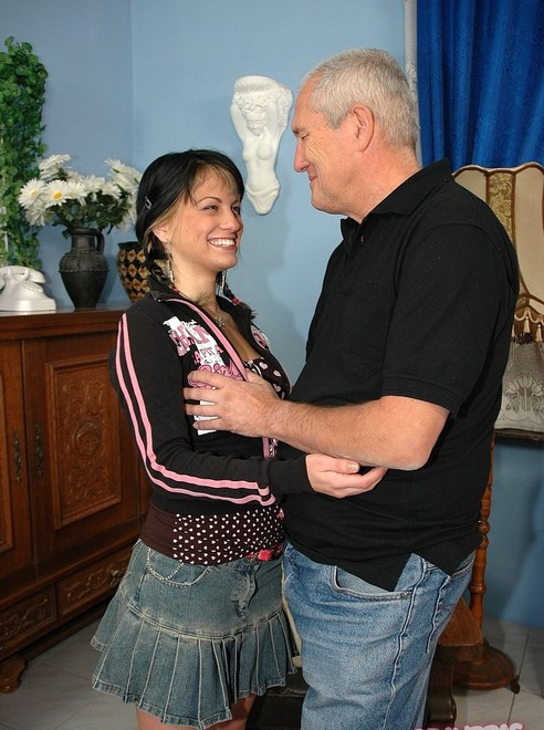 Amateur cuckold husband watches and jerks