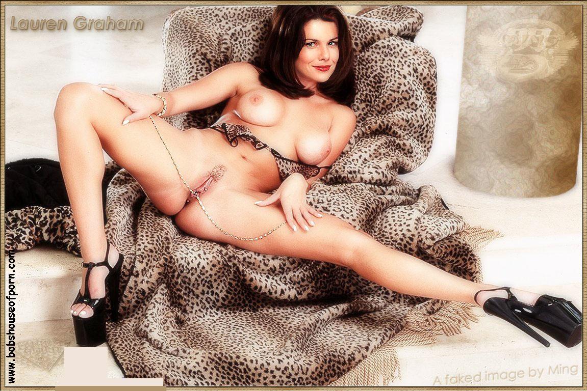Lauren graham hot bikini photos, sexy kissing pics