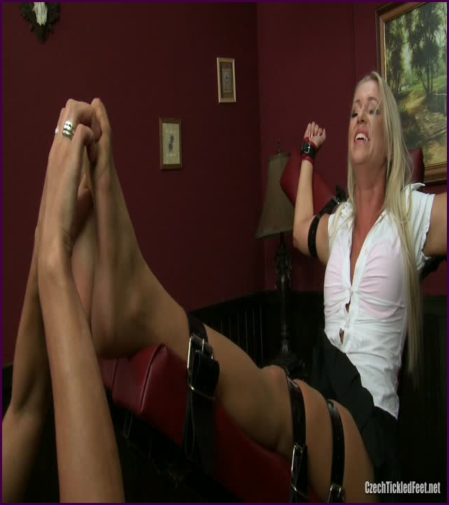 cindy is foot tickled on devil (image 1),