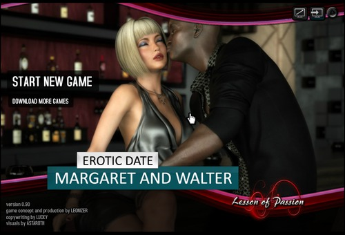 Lesson Of Passion - Erotic Date: Margaret and Walter