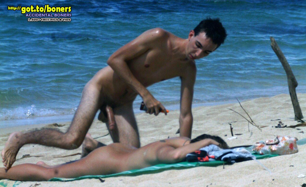 naked-boner-beach